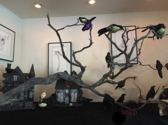 Halloween House Decor - Crows 1